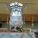 TRONE ARGENT